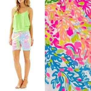LILLY PULITZER Shorts Jayne Multi Lovers Coral 00